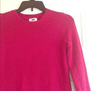 Old Navy Pink Sweater Sz Xs